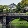 正門石橋と伏見櫓