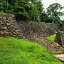 水の手門跡の石垣
