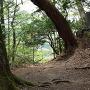 八幡郭と城碑