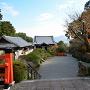 建勲神社から比叡山を望む