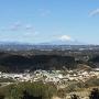 三の丸から望む富士山