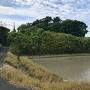 城址風景(南側から)