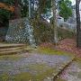 三島宮下の旧久留島庭園の石垣