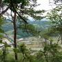 加治田城より堂洞城方面の眺望