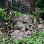 上段の石垣