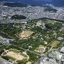 改修前の姫路城空撮[提供:姫路市]