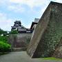 二様の石垣と本丸御殿、そして大天守