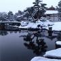 好古園の雪景色[提供:姫路市]