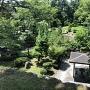 戌亥三重櫓側石垣から西の丸の眺め