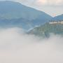 立雲峡から見た雲海