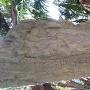 子孫が明治時代に建立した石碑