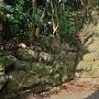 諸説ある、妙見神社 奥の石垣