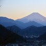 岩殿山 丸山公園から富士を望む
