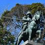 山内一豊公騎馬像