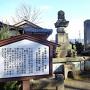 白道寺にある有馬直純と國姫(日向御前)の墓[提供:坂井市観光連盟]
