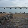 石垣と近江大橋
