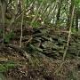緑色片岩の石垣