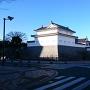 巽櫓から東御門にかけて