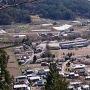 田口城跡より見下ろす