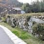 今田氏城館跡の石垣[提供:北広島町教育委員会]