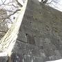 雪の福井城趾