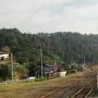 左沢楯山城遠景
