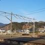 佐敷駅からの遠景