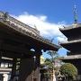龍原寺の三重塔