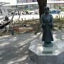 静岡駅前にある竹千代像
