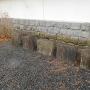 忍城櫓の石垣