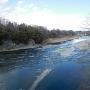 正喜橋から臨む荒川