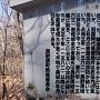 長野原城の説明板