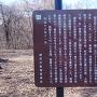 鎌原城の案内板