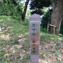 天守台(関戸城址)の標柱