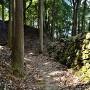 桝形門石垣