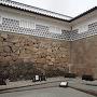 石川門の虎口石垣