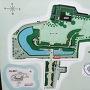 宇都宮城址公園の地図