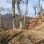 枡形城跡の虎口