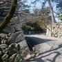 松坂城の表門跡