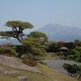 鹿児島城・仙巌園からの桜島の眺め