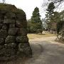 裏御門跡と鉄櫓