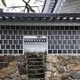 桜門への階段
