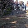 三の郭の庭園跡