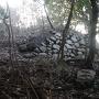 飯盛山城の石垣