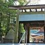 井伊谷宮の鳥居と拝殿