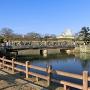 桜門橋からの姫路城