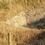 火薬庫跡の石垣