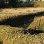 火薬庫跡の土塁
