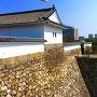 大坂城 千貫櫓からの大手門
