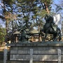 川中島古戦場跡の銅像